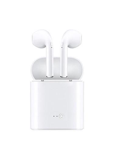 Platoon I7s Tws  4.2 Stereo Bluetooth Kulaklık - Şarj Üniteli Beyaz